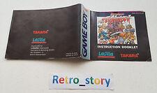 Nintendo Game Boy Battle Arena Toshinden Notice / Instruction Manual