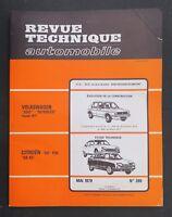 REVUE TECHNIQUE AUTOMOBILE RTA CITROEN GS 1130 VW SCIROCCO GOLF n°389