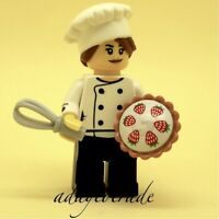 LEGO Collectable Mini Figure Series 17 - Gourmet Chef 71018-3 COL288 R829