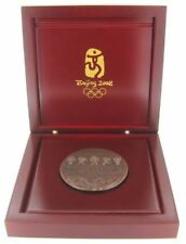 2008 Olympic Games Beijing ORIGINAL Participation Medal with Red case VERY NICE!