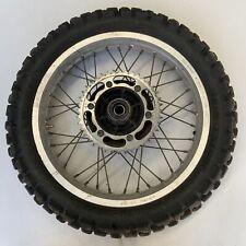 Honda XL250R 250 1987 Rear wheel rim tyre sprocket hub spokes 42701-KG0-003