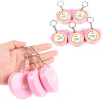 Retractable Ruler Tape Measure Key Chain Mini Pocket Size Metric 1.5M Key R_QA