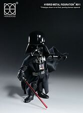 Star Wars DARTH VADER Hybrid Metal Figuration #011 Action Figure by Herocross