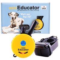 E-Collar 1/2 Mile Range Mini Educator Remote Trainer One Dog System ET-300TS