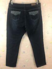 DKIN Jeans Plus Size 20W Slim Embellished Bling Pockets