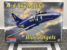 Monogram A-4 Skyhawk Blue Angels 1:48 Plastic Model Kit *RARE **FREE US SHIPPING