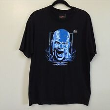 2007 TNA Kurt Angle 2 Sided Black Graphic T-shirt Size L w/ Hologram