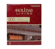 Nib Holiday Living Blue Icicle Lights 300 ct (Pack of 3) Weddings Parties Pools
