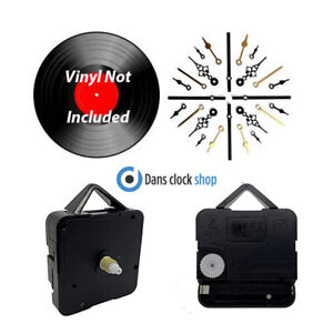 New 7'' & 12'' Vinyl Record Clock Making Kit Convert Your Old Records To Clocks