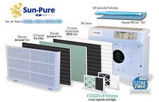 Sun-Pure Ultra-Sun SP-20 SP-20C Trio-1000P Replacement Air Filter Kit 2 UV Lamps