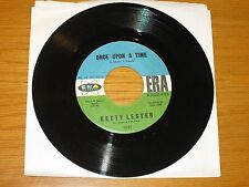 """R&B/SOUL 45 RPM - KETTY LESTER - ERA 3080 - """"ONCE UPON A TIME / BUT NOT FOR ME"""""""