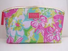 Lilly Floral Pink  Estee Lauder Makeup Cosmetic Bag