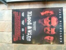 Original BLOOD AND WINE 1  SHEET MOVIE POSTER