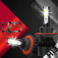 XENTEC LED HID Headlight kit H13 9008 White for 2008-2016 Ford E-450 Super Duty