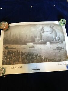 """2007 Scholastic """"The Arrival"""" Art Print by Shaun Tan 24 x 18 inches"""