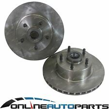 2 Front Disc Brake Rotor Commodore VN V6 with FE2 VN V8, VN VG V8 Holden Ute
