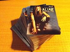 ALIAS SEASON 2 COMPLETE BASIC SET OF 81 CARDS