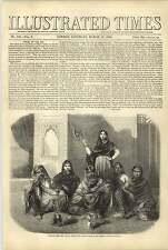 1858 Hindu Females Native Artist Painting