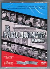 Is Paris Burning? DVD R:0 Jean Paul Belmondo Alain Delon Charles Boyer *SEALED