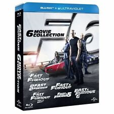 Fast and Furious 1-6 (Blu-ray, 2013, 6-Disc Set, Box Set)