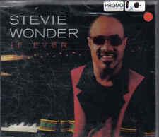 Stevie Wonder- If Ever Promo cd single sealed