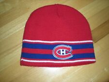 """NHL MONTREAL CANADIANS """" HABS """" BEANIE"""
