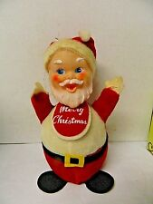 Vintage Gund Gunderful Santa Claus Roly Poly Jingle Bell Japan J Swedlin 9.5""