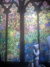 banksy CATHEDRAL  PRINT POSTER 60cm x 40cm