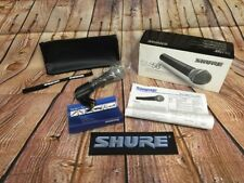 Shure SM58S Legendary Vocal Microphone On/off Switch Unidirectional Dynamic Clip