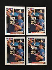 (4) GARY CARTER 1992 BOWMAN MONTREAL EXPOS BASEBALL CARDS