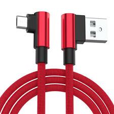 USB C 3.1 Kabel gewinkelt 90°Winkel Stecker Daten Ladekabel Typ C iPhone Samsung
