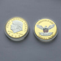 US President Donald Trump 2020 KEEP AMERICA GREAT Silver&Gold Challenge Coins Bs