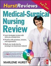 Hurst Reviews Medical-Surgical Nursing Review Marlene Hurst w/ CD