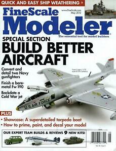 FINE SCALE MODELER magazine MAY 2012