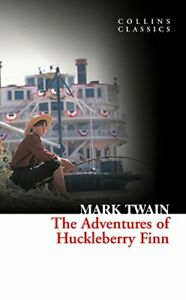 Collins Classics - The Adventures Of Huckleberry Finn by Mark Twain, NEW Book, F