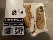 Vans Syndicate Wtaps Yellow Wings Authentic 11.5 Rare Sk8 Vtg Box Logo Vault Hi