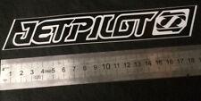 """Sticker JetPilot  MX 8"""" - Black - 18cm x 3cm - jetski - PWC - wake"""