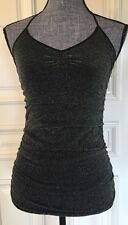 Guess  Women's Blouse Size Medium / Large Black & Silver Brand New MSRP $49