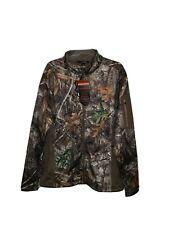 Mens Large Realtree Edge Jacket Habit  townsend ridge techshell jacket NWT*