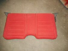 82-92 CAMARO RS Z28 FIREBIRD TA FORMULA SEAT BACK RED CLOTH USED GM OEM # 2