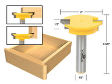 "Reversible Drawer Front Router Bit - 1/2"" Shank - Yonico 15133"