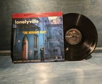 CREED TAYLOR ORCHESTRA LONELYVILLE~THE NERVOUS BEAT~OG 1959 1st PRESS LP~HOPKINS