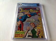 SUPERMANS PAL JIMMY OLSEN CGC 9.4 WHITE PAGES NEAL ADAMS LEX LUTHOR DC COMICS