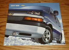 Original 2004 Chevrolet Van Deluxe Sales Brochure 04 Chevy Astro Express