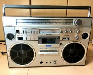 [JUNK] HITACHI PERDiSCO TRK-8600RM Radio-cassette player Boombox Vintage Rare 8