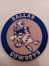 "Dallas Cowboys vintage embroidered iron on Patch   3""x 3"" Vintage Cowboy Joe"