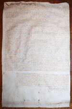 1637 Manuscript Indenture Sale of Property Majorca Manacor Vellum Latin Mallorca
