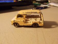 Lesney Matchbox #29 Bedford Milk Delivery Van 1956 Gray Wheels Many Paint Chip