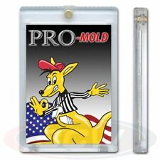 75x PRO-MOLD MH1UV5 Thicker 20 Pt Magnetic Card Holder -5 Year UV Protection Box