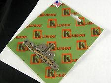 Kluson KABRWRB-N ABR-1 Tuneomatic Bridge Raw Brass Saddles